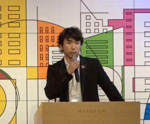 染野屋代表小野篤人講演の様子